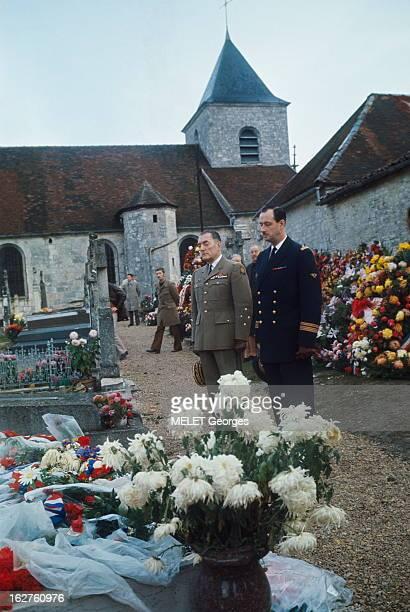 Funeral Of General De Gaulle In ColombeyLesDeuxEglises Obsèques du général Charles DE GAULLE à ColombeylesDeuxEglises 12 novembre 1970 son fils...