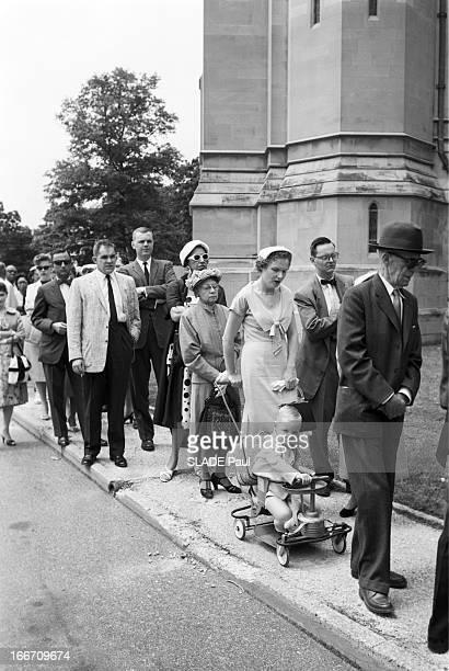 Funeral Of John Foster Dulles Washington Aux EtatsUnis à Washington DC en mai 1959 lors des obsèques de John Foster DULLES ancien Secrétaire d' état...
