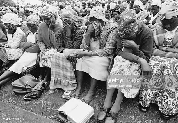 Funeral of Kenyan nationalist leader Jomo Kenyatta