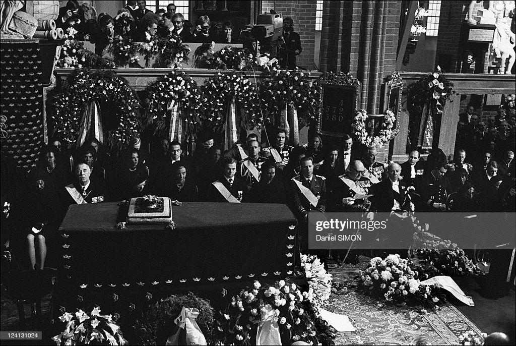 Funeral Of King Gustav Adolf Vi In Stockholm, Sweden On September 15, 1973. : News Photo