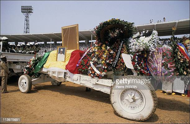 Funeral of president Ahmed Sekou Toure In Conakry Guinea On April 02 1984