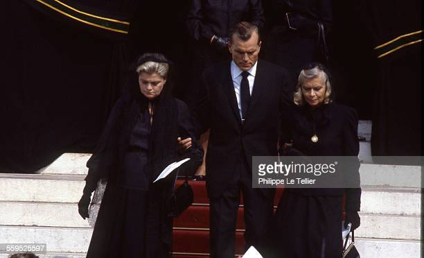 Funeral of Princess Grace of Monaco Cathedral of Monaco Lizanne Kelly Grace Kelly's sister