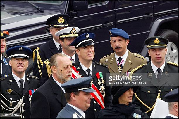 Funeral of Queen Mum in London United Kingdom on April 09 2002 Prince Albert