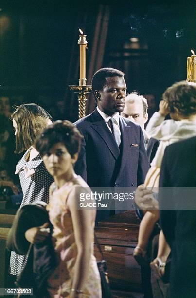 Funeral Of Robert Kennedy Cérémonie des funérailles de Bob KENNEDYSidney POITIER