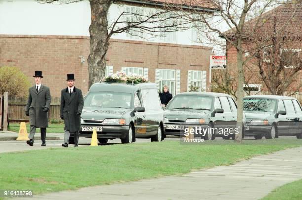 Funeral of schoolgirl Nikki Conroy Tuesday 5th April 1994