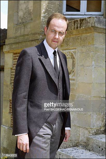 Funeral of the Countess of Paris in the Royal Chapel of Dreux France On July 11 2003Prince Jean Of Orleans