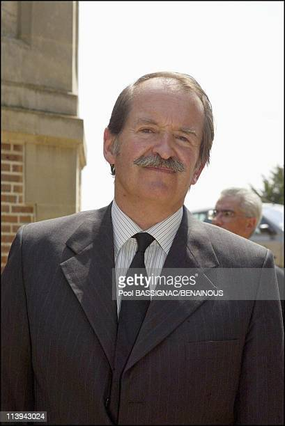 Funeral of the Countess of Paris in the Royal Chapel of Dreux France On July 11 2003Dom Duarte of Braganca