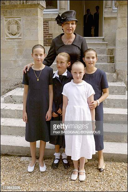 Funeral of the Countess of Paris in the Royal Chapel of Dreux France On July 11 2003Diane of Wurtemberg