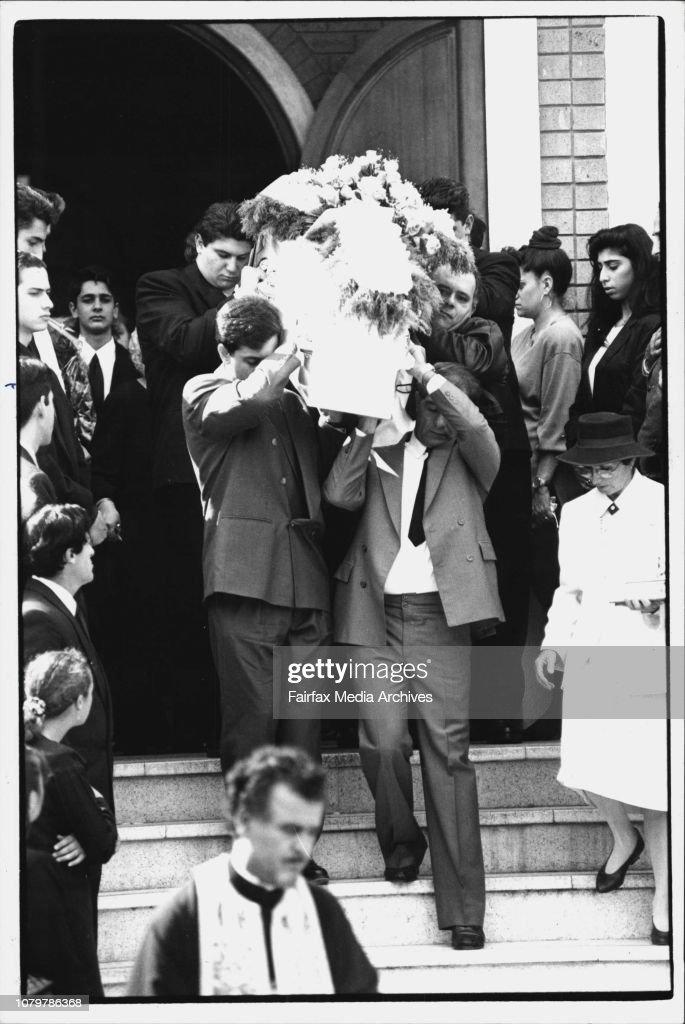 Funeral of Toula Soravia at Kogarah Greek Orthodox Church