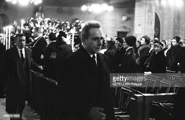 Funeral Of Vera Clouzot Le 19 décembre 1960 ont lieu les obsèques de Véra CLOUZOT comédienne et épouse du réalisateur HenriGeorges CLOUZOT Portrait...