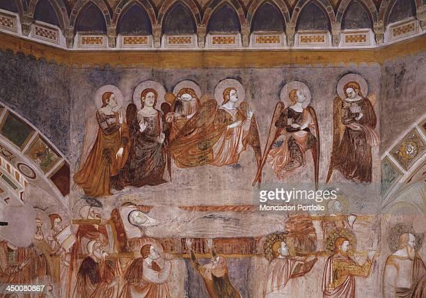 Funeral procession by Stefano Fiorentino 14th Century fresco