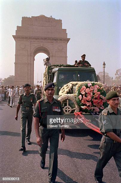 Funeral Procession for Indira Gandhi