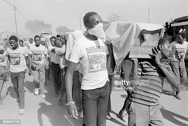Funeral Procession for Massacre Victims