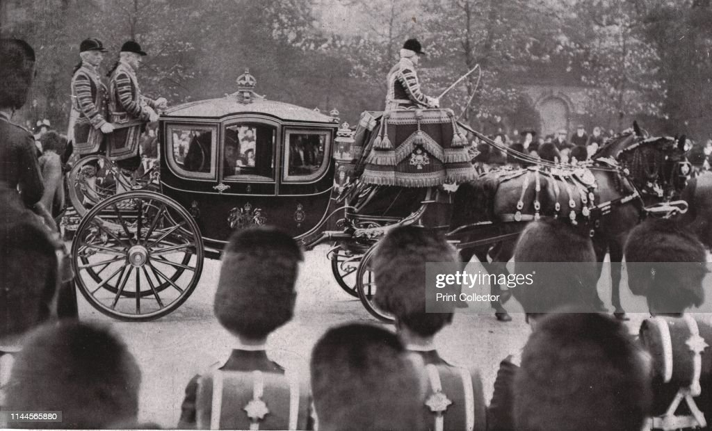 Funeral Procession Of King Edward Vii : News Photo