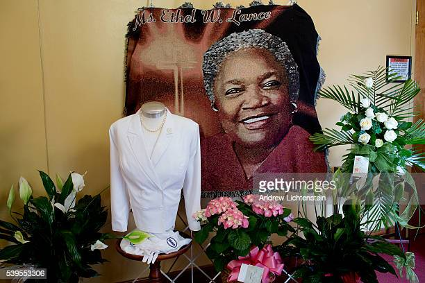 Funeral services are held for Ethel Lance one of the nine parishioners of the historical Emanuel AME Church who were slaughtered by a racist gunman...
