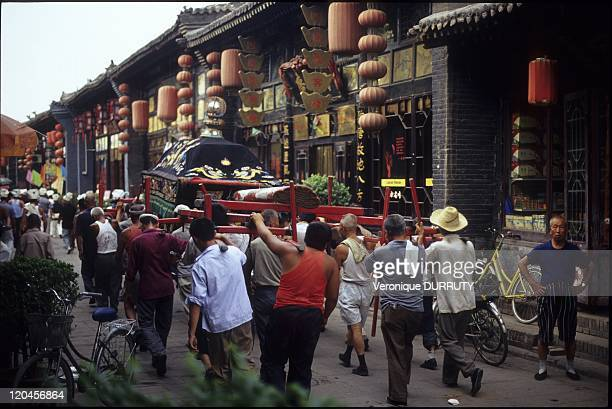 Funerals In Pingyao China