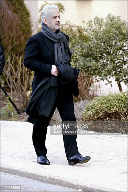 Funerals of Bernard Loiseau In Saulieu France On February 28 2003 Guy Savoy