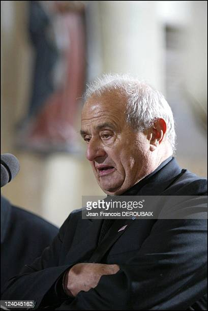 Funerals of Bernard Loiseau In Saulieu France On February 28 2003 Paul Bocuse