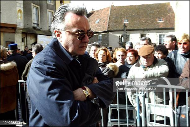 Funerals of Bernard Loiseau In Saulieu France On February 28 2003 Alain Ducasse