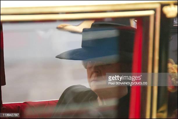 Funerals of Prince Claus of Netherlands in Delft Netherlands On October 15 2002Queen Beatrix