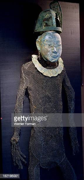 Funerary garment resembles those found in tombs of Liao princess in Inner Mongolia and the provinces of Liao and Hebei in China, China ,Chinese. Liao...