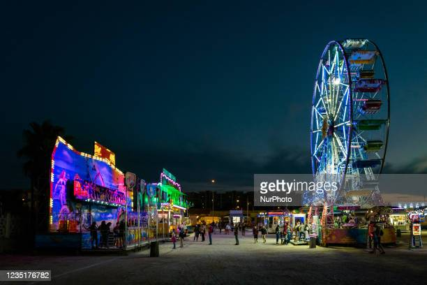 Funfair at Secca dei Pali in Molfetta on the occasion of the Patronal Festival on 10 September 2021. On the occasion of the Patronal Festival, the...