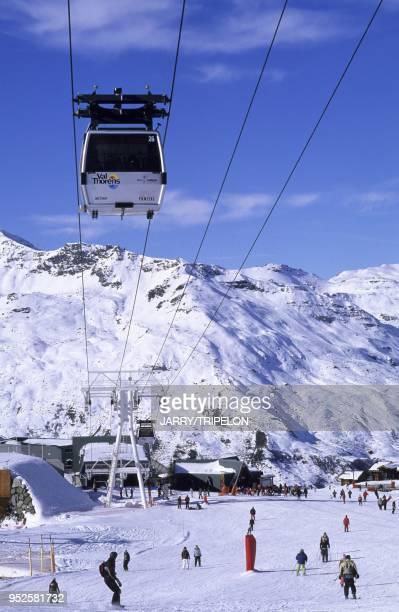 funitel Peclet Val Thorens Domaine skiable des Trois Vallees Vallee des Belleville departement Savoie region RhoneAlpes France Peclet funitel Val...