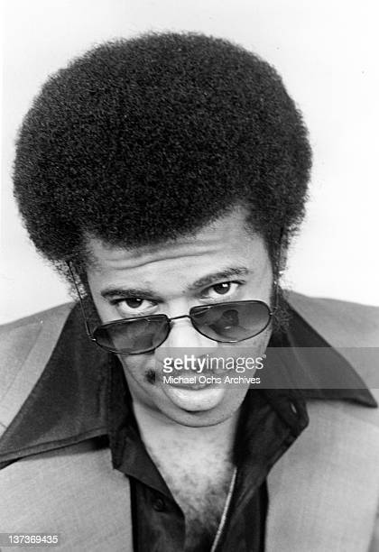 Funk musician Jimmy Castor poses for a portrait session in April 1977