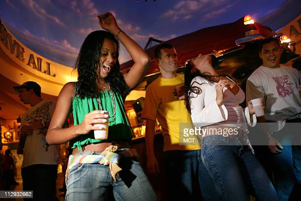 Funk party at Rio de Janeiro's Planet Hollywood at Barra da Tijuca an upper middle class neighborhood June 8 2006 Like Brazil's trademark genre samba...