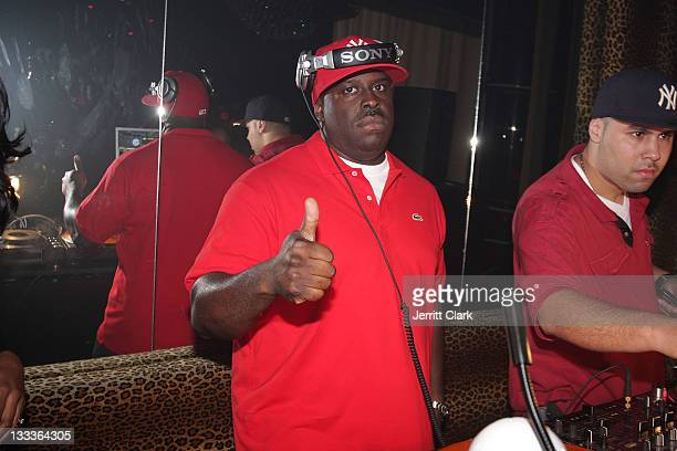 Funkmaster Flex attends his birthday party at M2 Ultra Lounge on August 6 2009 in New York City