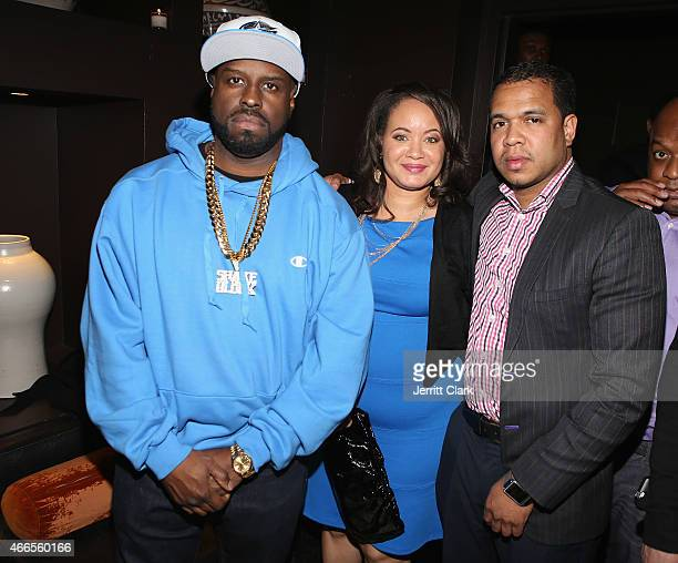 Funkmaster Flex Dr Angelique Anderson Nunez and Johnny Nunez attend the Inspired In Music event Honoring Johnny Nunez Ralph McDaniels Funkmaster Flex...