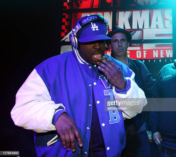 DJ Funkmaster Flex spins at Girls Night Out at Webster Hall on March 31 2011 in New York City