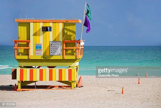 Funky Lifeguard Station, 8 st South Beach