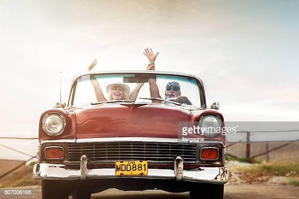 Funky Älteres Paar in Kuba