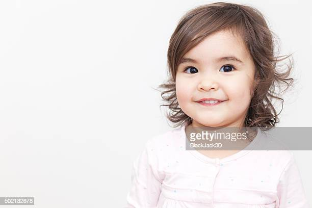 funny baby girl - baby girls stock pictures, royalty-free photos & images