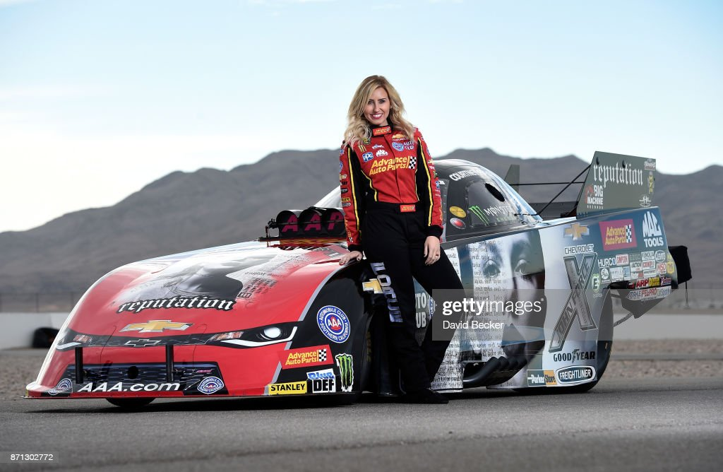 """Taylor Swift's New Album """"reputation"""" Featured  On Courtney Force's NHRA Funny Car"""