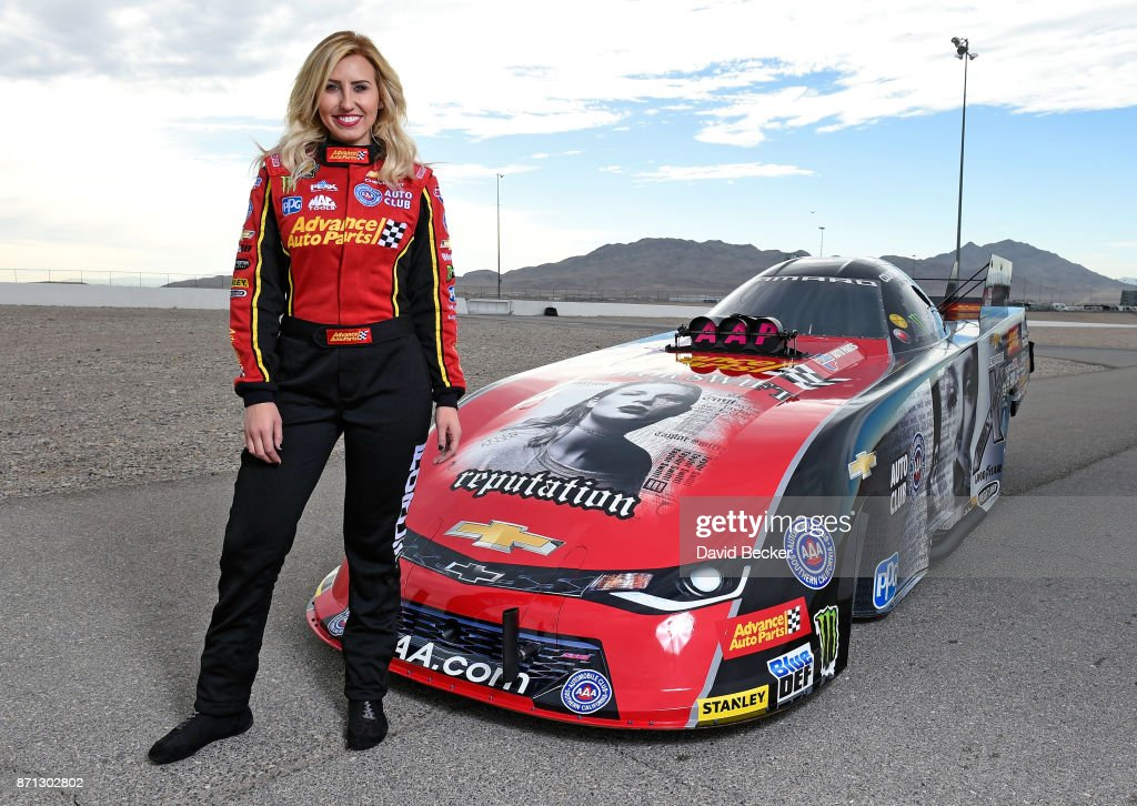 "Taylor Swift's New Album ""reputation"" Featured  On Courtney Force's NHRA Funny Car"
