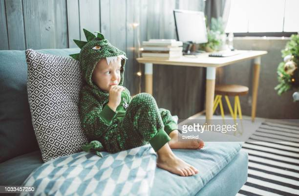 funny christmas morning at home - child stock pictures, royalty-free photos & images
