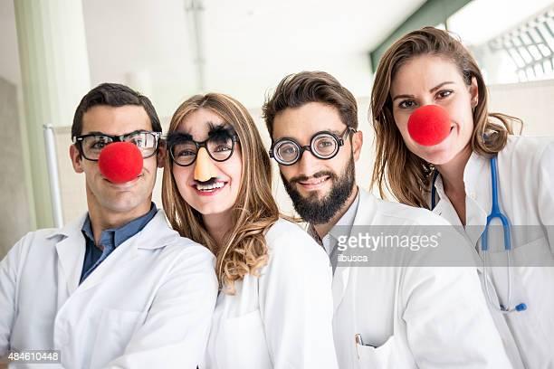 面白いピエロ医師 pediatricians
