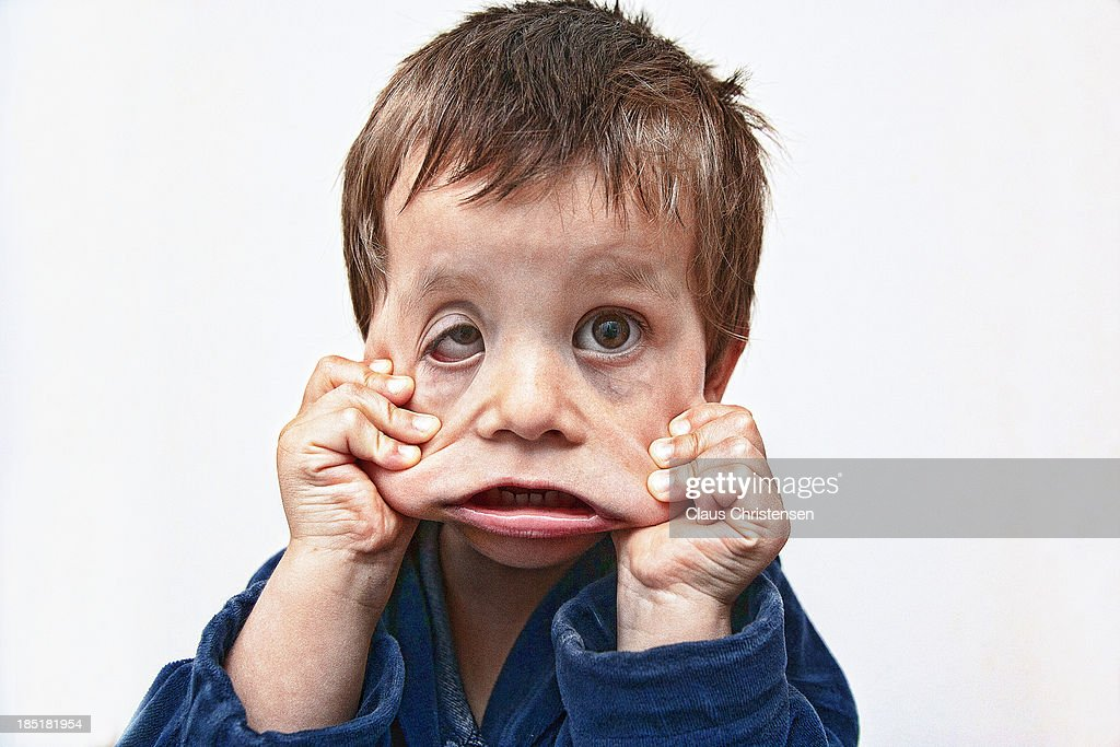 Funny Faces: Funny Face Stock Photo