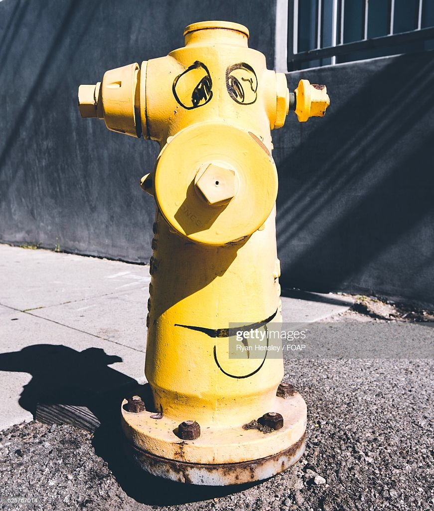 Funny Fire Hydrant High-Res Stock Photo - Getty Images