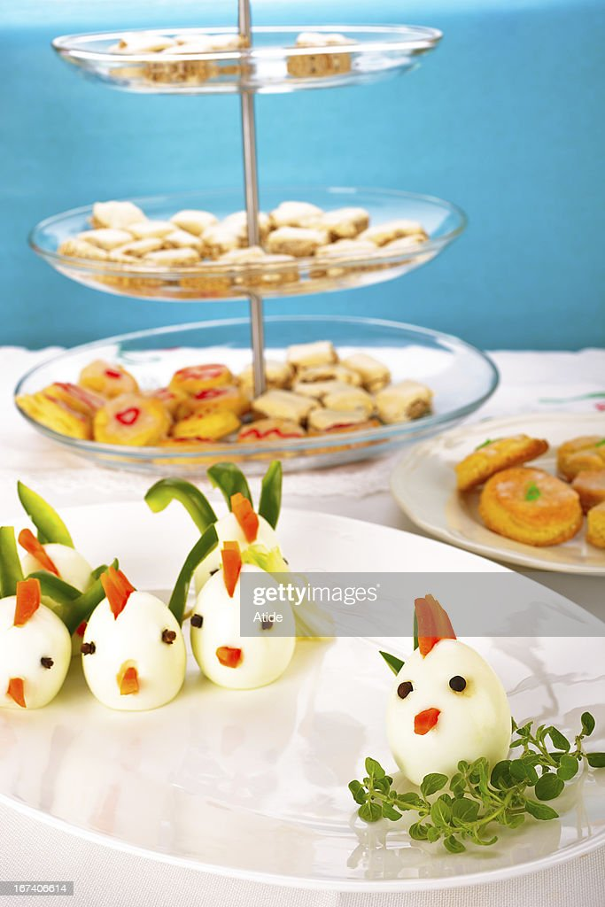 Funny food : Stock Photo