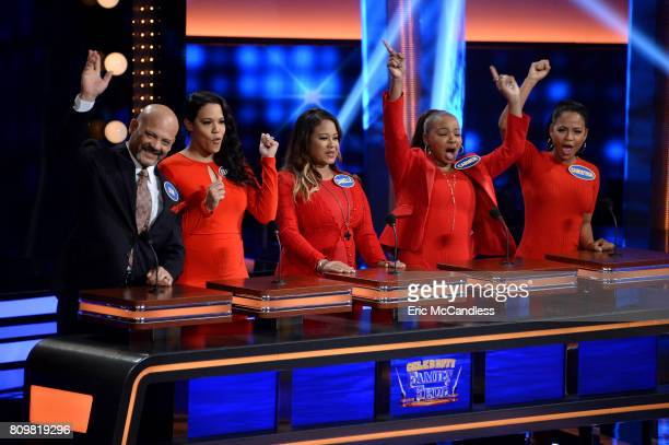 """Funny Gals vs Funny Guys and Louie Anderson vs Christina Milian"""" - The celebrity teams competing to win cash for their charities feature..."""