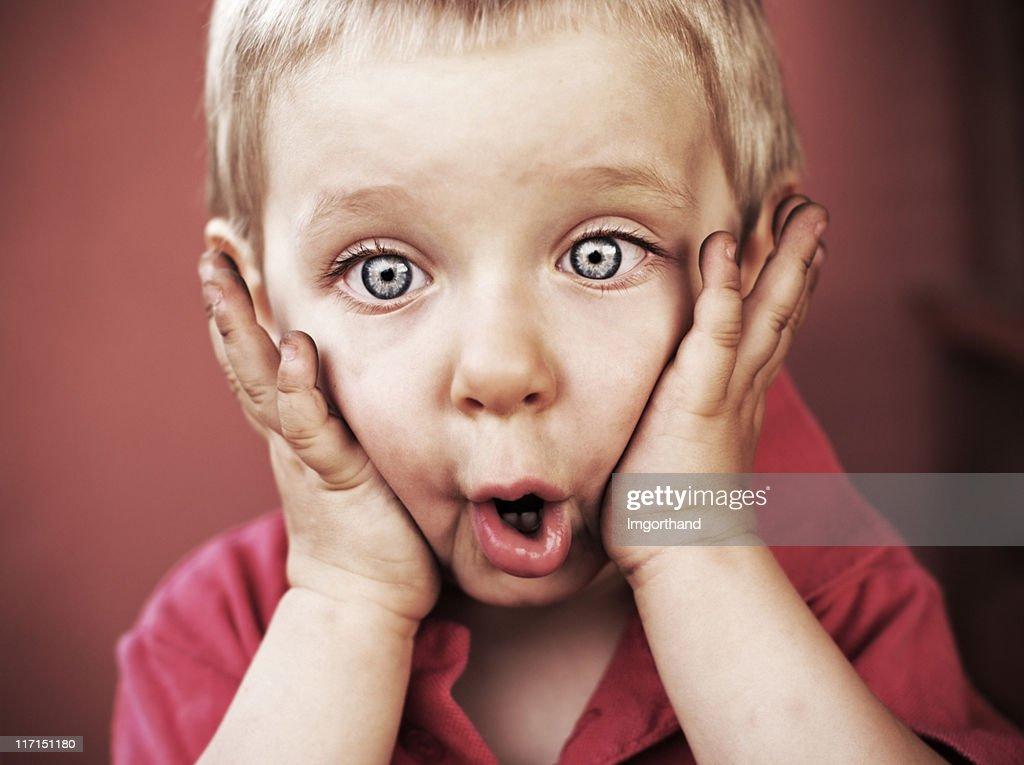 Funny little boy : Stock Photo