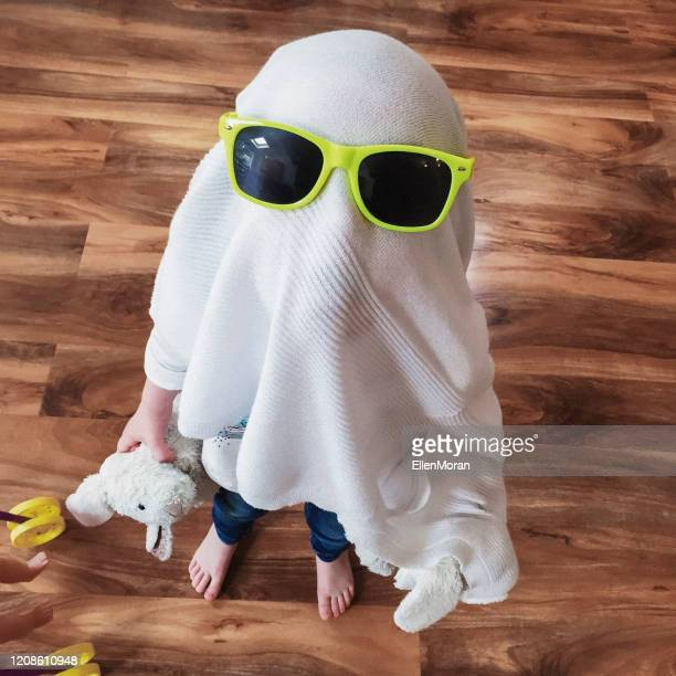 funny little girl - halloween stock pictures, royalty-free photos & images