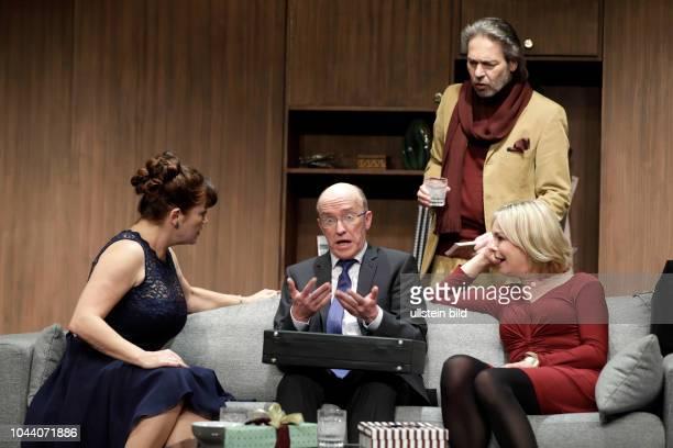 Funny Money Komödie von Ray Cooney gastiert vom 23 November 2017 bis 10 Februar 2018 im Theater am Dom in Köln Saskia Valencia Peter Nottmeier...