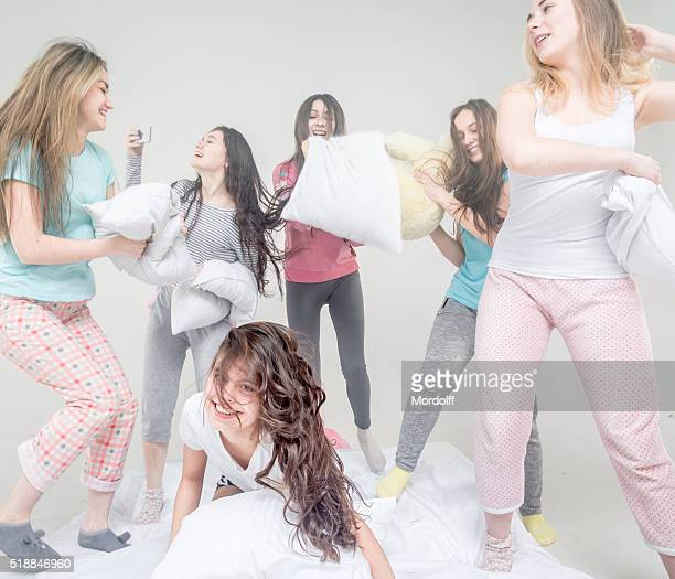 Funny Pillow Fight