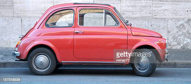funny red italian car - number 500 stock pictures, royalty-free photos & images