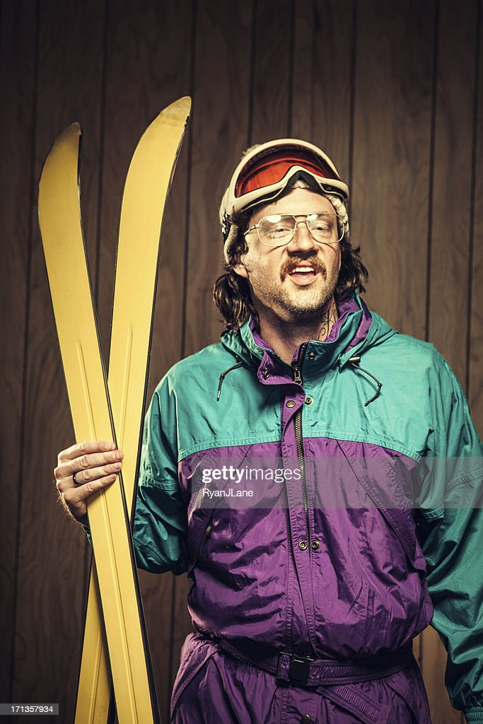 Funny Ski Bum In Lodge Stock Photo - Getty Images