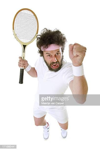面白いテニス選手怒り